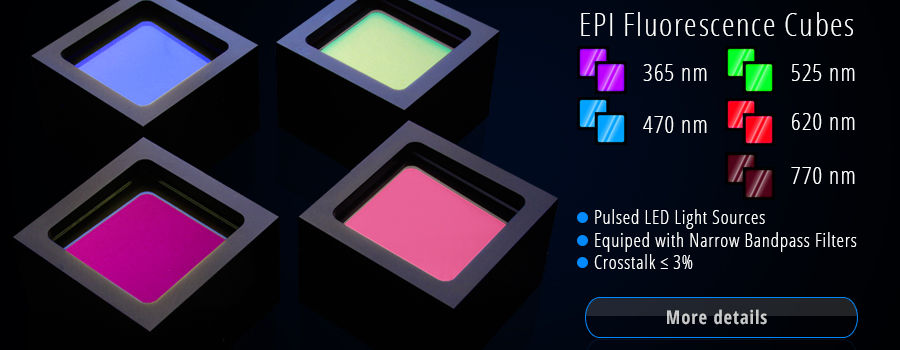 EPI Fluorescence LED Cubes